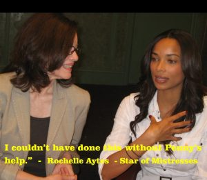 Advanced On-Camera Acting Class Photo w Rochelle Aytes