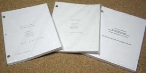 photo of scripts