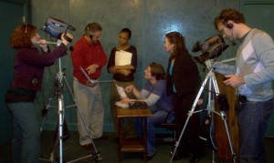 Actors at work in the Camera Class
