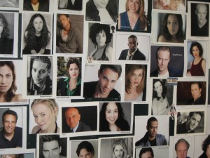 Our wall of Headshots