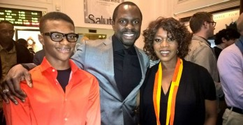 Justin Myrick with Amari Cheatom & Alfre Woodard