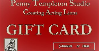 Acting Class Gift Cards, The Perfect Gift for Actors