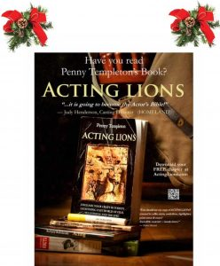 """Acting Lions"" The comprehensive book on learning how to act by Penny Templeton"
