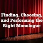 Date Change – NEW Monologue Class starts May 17 with  The Monologue Detective, Prudence Wright Holmes