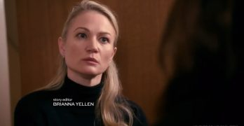 Watch Acting Lion Sarah Wynter on SVU on NBC –  Wed. Feb 8, 9pm, 8pmCentral