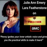 Acting Lion Julie Ann Emery stars in Preacher on AMC