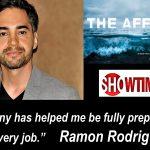 Ramon Rodriguez  starring in THE AFFAIR  Season 4