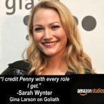 Sarah Wynter stars in Season 2 of GOLIATH on Amazon